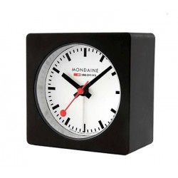 Square Alarm Clock (nero) – A996.ALIG.20SBB