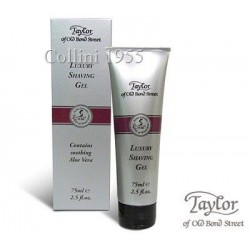 Luxury Shaving gel tube Aloe Vera - Taylor