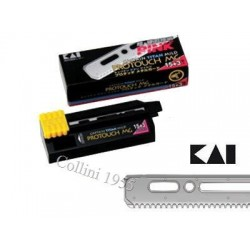 Pacchetto 15 lame Kai Captain Titan Mild Protouch MG