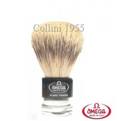 Pennello da barba in tasso Omega 615