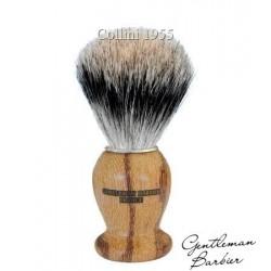 Pennello da Barba in Tasso Gentleman Barbier in Legno Serpente