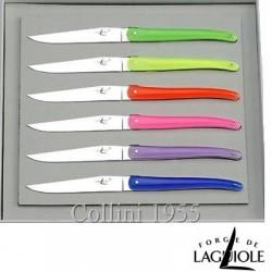 Set 6 coltelli da tavola Wilmotte by Forge de Laguiole