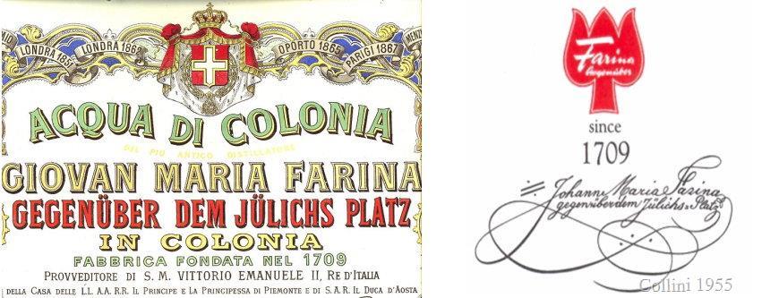 Banner Johann Maria Farina 1709