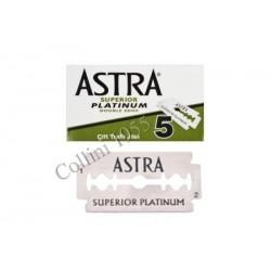 Pacchetto 5 lamette Astra Superior Platinum