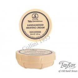 Crema  da barba Taylor al Sandalo 60 g da viaggio