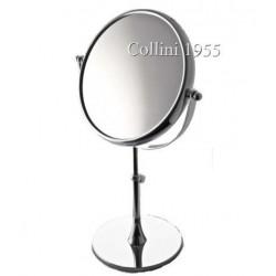 """Specchio da Tavolo """"Lusso"""" bifacciale x5 Ø21 Piazza"""