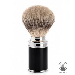 Pennello da barba in tasso Muhle M 106 nero
