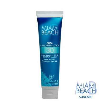 Miami Beach Sea Sunscreen Lotion SPF 30
