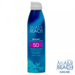 Miami Beach Sport Sunscreen Spray SPF 50