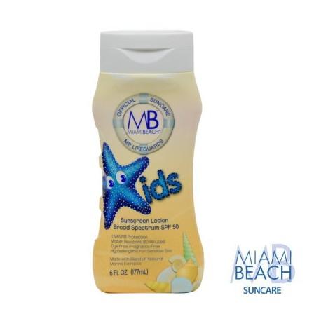 Miami Beach Kids Sunscreen Lotion SPF 50