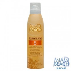 Miami Beach Tanning Oil Spray SPF 8
