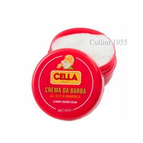 Crema da barba Cella all'olio di mandorla