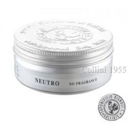 Sapone da Barba in Crema Neutro No Fragrance Saponificio Bignoli
