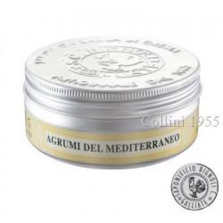 Sapone da Barba in Crema Agrumi del Mediterraneo Saponificio Bignoli