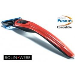 Rasoio Fusion Bolin Webb X1 X1 Cooper Red