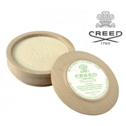 Sapone  da barba in ciotola legno Creed Green Irish Tweed