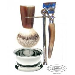 Set da barba  Fusion in Corno Collini1955