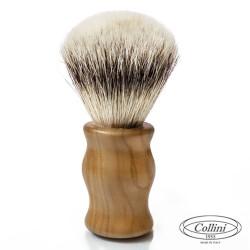 Pennello da Barba in Tasso man. Legno di Olivo Collini1955