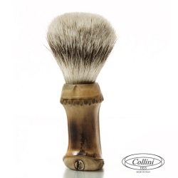 Pennello  da barba in tasso man. Bamboo Collini1955