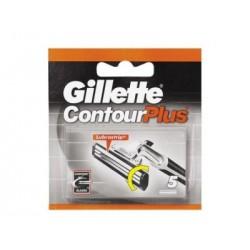 Confezione da 5 Lame Gillette Contour Plus
