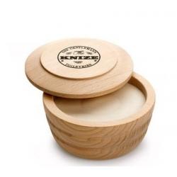 Sapone  da barba in ciotola legno Knize Ten