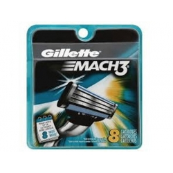 Confezione da 8 Lame Gillette Mach3 Made in USA
