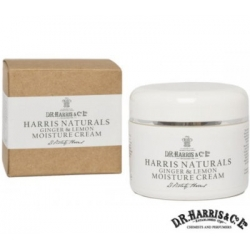 D.R. Harris Naturals Ginger And Lemon Moisture Cream 100 ml