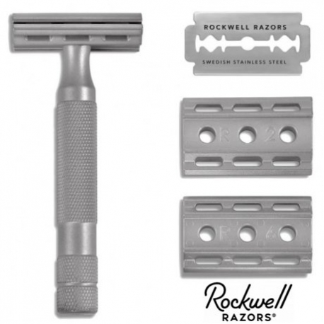 Rasoio di Sicurezza DE Rockwell 6S Adjustable INOX