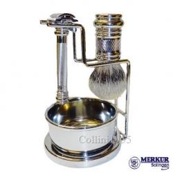 Set da barba Merkur 38 con Ciotola