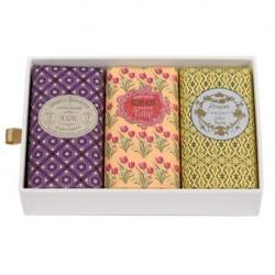 Confezione Collezione Classico da 3 saponi 8741, Chic, Lavandre x 150 g