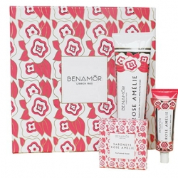 Benamôr Scatola Regalo Rose Amélie Gift Set Hand and Body