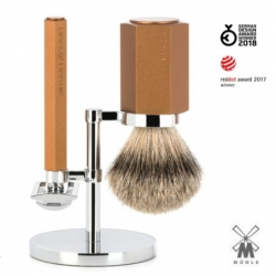 Set da barba Muhle Hexagon Bronze
