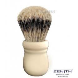 Pennello da barba Zenith 505 finto Avorio Tasso Extra Silvertip
