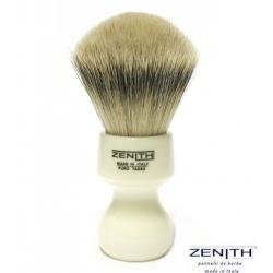 Pennello da barba Zenith 506 finto Avorio Tasso Extra Silvertip