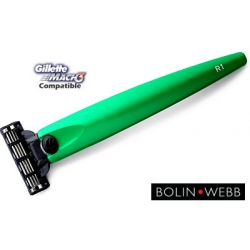 Rasoio Mach3 Bolin Webb R1 Metallic Green