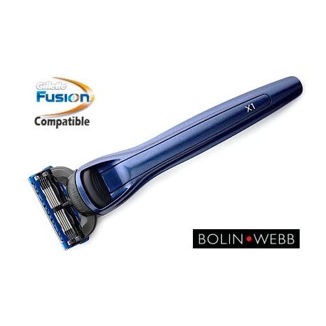 Rasoio Fusion Bolin Webb X1 Ocean Blue