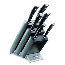Ceppo completo di 6 coltelli Serie Wusthof Classic Ikon 9876