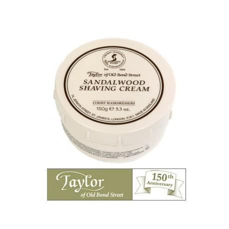Crema  da barba Taylor al Sandalo