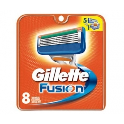 Confezione da 8 Lame Gillette Fusion Made in USA