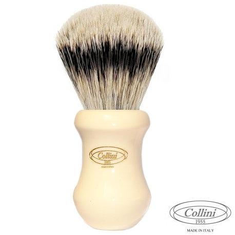 """Pennello Barba in Tasso Silvertip """"Il Barone"""" A Ø 25 Collini1955"""