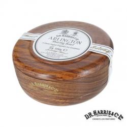 Sapone  da barba in ciotola legno mahogany effect D.R. Harris Arlington