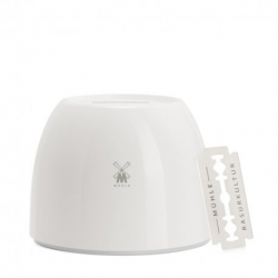 Contenitore in ceramica Muhle per lamette DE usate