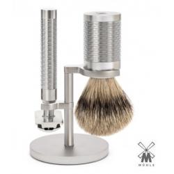 Set da barba Mühle ROCCA Manici Inox
