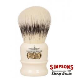 Pennello da barba  Simpsons Chubby CH2 Sintetico
