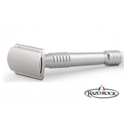 Rasoio di Sicurezza DE Razorock Lupo Silver