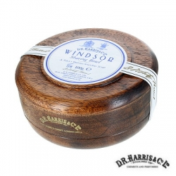 Sapone  da barba in ciotola legno mahogany effect D.R. Harris Windsor
