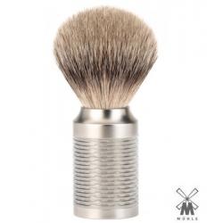 Pennello da barba in tasso Muhle M 94 ROCCA Inox