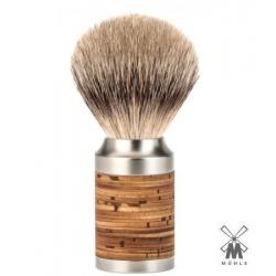 """Pennello da barba in tasso Muhle M 95  """"ROCCA""""  Manico Betulla"""