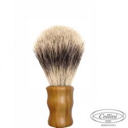 """Pennello Barba in Tasso Silvertip man. Olivo """"Il Viaggiatore"""" Collini1955"""
