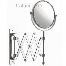 Specchio da parete a pantografo bifacciale Ø17 Piazza